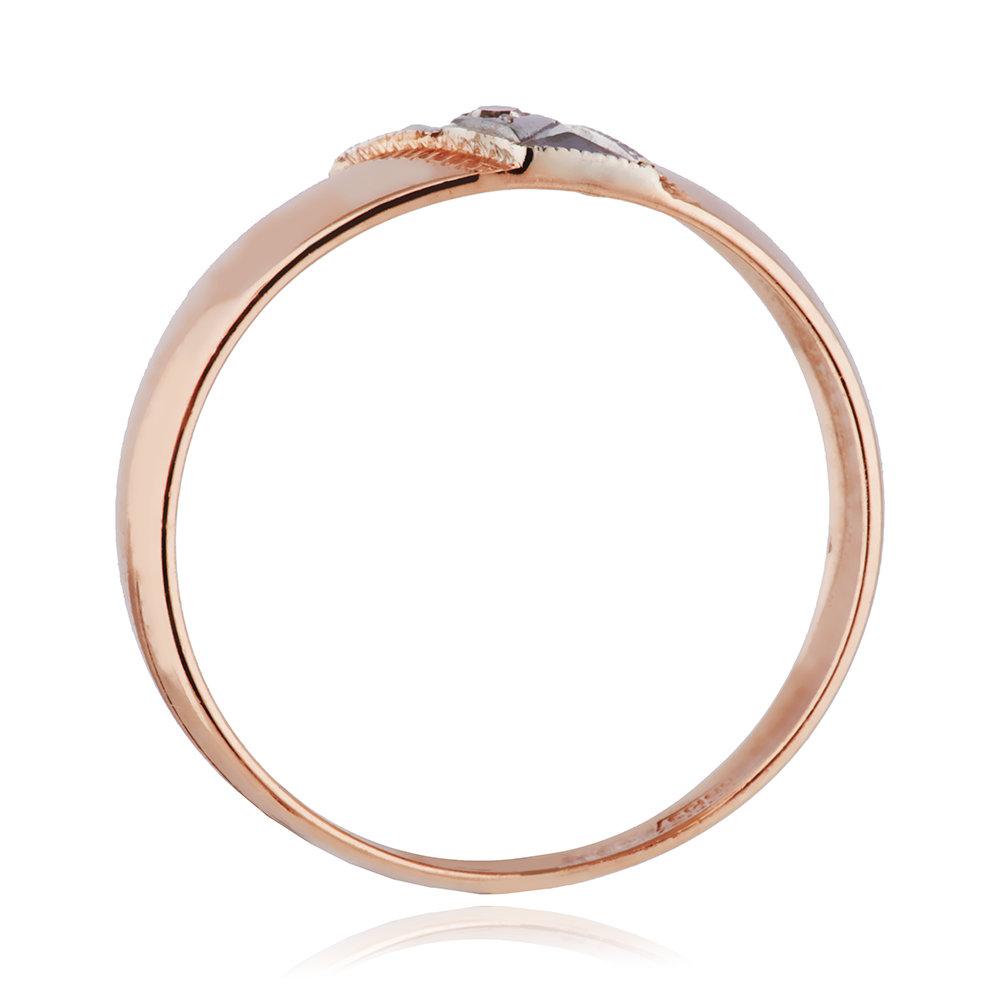 Кольцо обручальное с бриллиантом