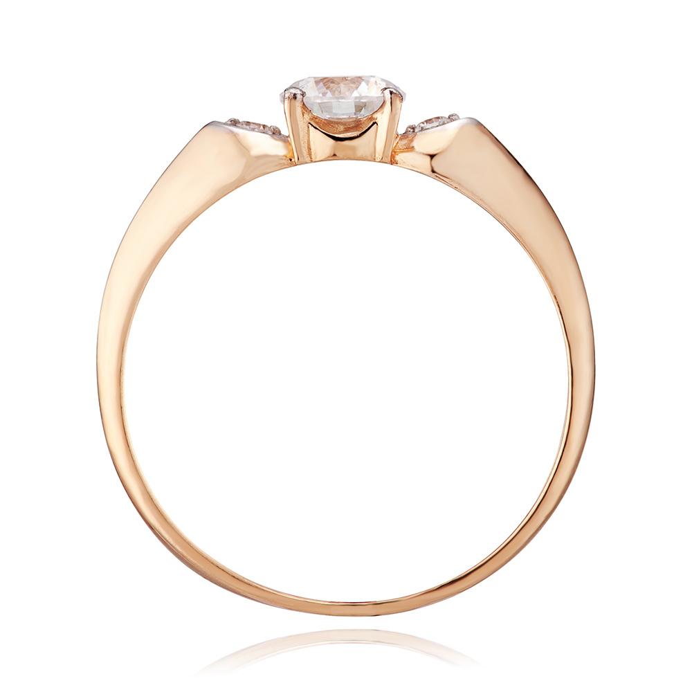 Кольцо из золота с кристаллами SWAROVSKI