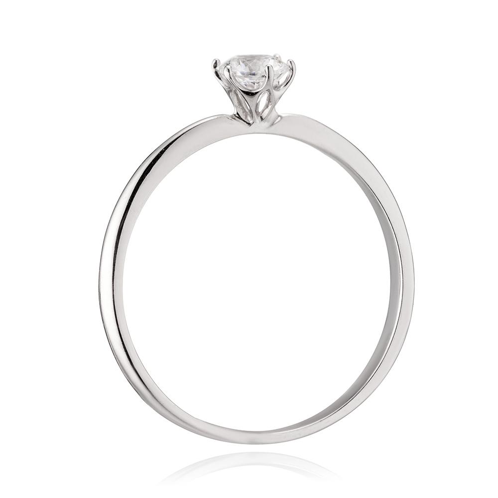Кольцо из золота с кристаллом SWAROWSKI