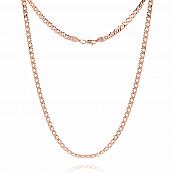 Цепь, плетение Ромб двойной с алмазной гранью 6-ти сторон, 6 мм