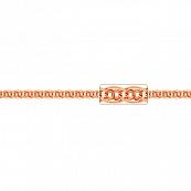 Браслет, плетение Нонна-Бисмарк с алмазной гранью, 6,5 мм